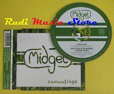 CD Singolo MIDGET Camouflage 1997 england PINNEACLE TINY CDS2 no lp mc dvd (S13)