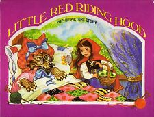 Little Red Riding Hood Pop-Up Picture Story Book