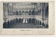 Vintage Postcard - Anvers - La Bourse - Unposted 2076
