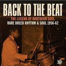 BACK TO THE BEAT - THE LEGEND OF NORTHERN SOUL RARE BREED RHYTH MNEW LP 16 TRKS