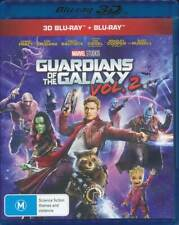 GUARDIANS OF THE GALAXY VOL.2 (2017) Blu-ray 3D & 2D 2 Disc Set New & Sealed