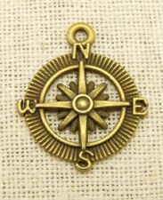 "4 remolque /""Wind Rose/"" en Antik colores de bronce"