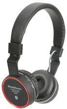 Av:Link - Bluetooth Wireless Headphones, Black New