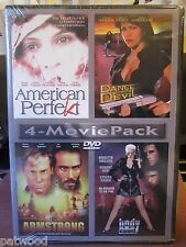 4-Movie Pack: American Perfekt/Dance Devil/Armstrong/Body Count (DVD, 2004), NEW