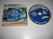 VFR Photo Scenery GENERATION X Central England version 3 update disc NEW