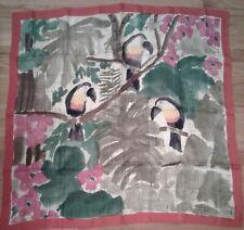 Carolina Herrera Silk Scarf 90 cm