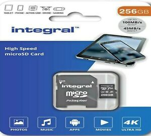 256GB Memory Card For FiiO M11, M11Pro, M15, M3K, M5, M6, M7, M9 Music Player