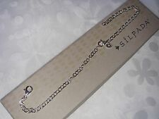 "SILPADA .925 Sterling Silver 12"" Extra Long Necklace Extender N3171 NIB"