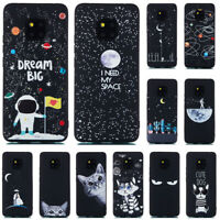 For Huawei Mate 20 Pro/P20 Lite Slim Soft Silicone Painted TPU Matte Case Cover