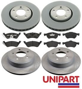 For Chrysler - Grand Voyager 2.5 CRD 2001-2007 Front & Rear Brake Discs and Pads