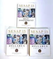 SESAP 13 Surgical Education And Self Assessment Program Syllabus Volume 1 & 11