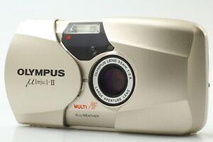 [Mint] Olympus μ mju II 35mm F2.8 Point & Shoot 35mm Film Camera from JAPAN #136