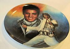 "Elvis Presley Special Plate Rare large 10 1/2 "" commemorative to Elvis #2482"