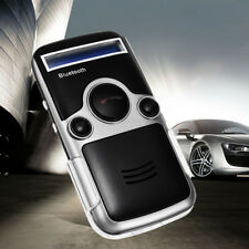 Solar Powered Bluetooth Handsfree Car Kit Digtal LCD Mic Speaker For Phone Dial