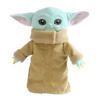 Stars Wars The Mandalorian Baby Yoda Plush Toy Stuffed Doll Kids Cute Gift