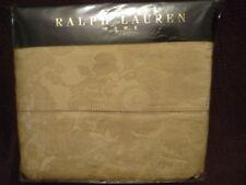 RALPH LAUREN Rue Royale Jules Jacquard QUEEN flat sheet NIP!