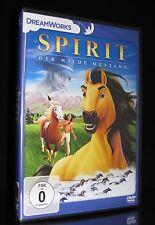 DVD SPIRIT DER WILDE MUSTANG - PFERDE-FILM für die ganze Familie - DREAMWORKS *