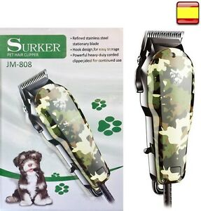 Esquiladora maquina cortapelos para perros gatos mascotas caballos corta pelo