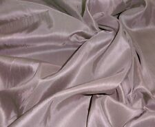 TAUPE BROWN FAUX SILK DUPIONI FABRIC DRAPE DECOR TABLECLOTH CRAFT DRESS SKIRT