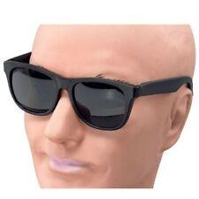 NUOVO DEGLI ANNI OTTANTA'80 Miami BLUES Brothers Gangster Occhiali Costume P2201