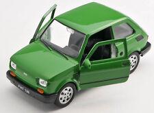 BLITZ VERSAND Fiat 126 p grün / green Welly Modell Auto 1:27 NEU & OVP