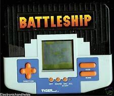 1990s TIGER ELECTRONIC 1st BATTLESHIP HANDHELD LCD GAME VINTAGE BOARD GAME KIDS