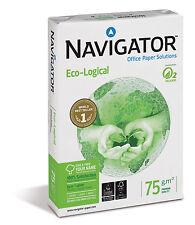 Navigator DIN A3 ECO - LOGICAL 75g Kopierpapier  weiss 12500 Blatt  EU-Blume+FSC