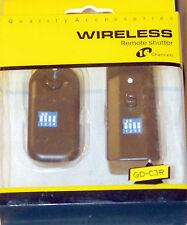 (PRL) RADIOCOMANDO WIRELESS REMOTE SHUTTER TELECOMANDO 16 CH CANON EOS D MARK