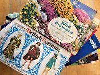 Brooke Bond Album-Completed-Collectable-Vintage-British-Wildlife-Fashion-World