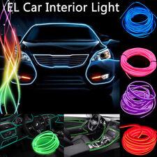 2-5M Auto EL LED Ambientebeleuchtung Innenraumbeleuchtung Lichtleiste Neon Licht