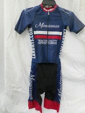 Cycling racing skin suit one piece