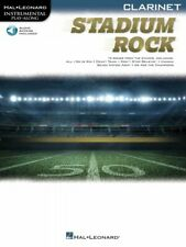 Stadium Rock for Clarinet Instrumental Play-Along Book and Audio New 000323881