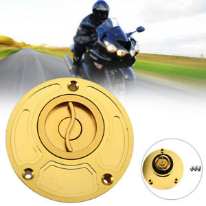 Universal CNC Motorcycle Gas Fuel Tank Cap Cover Valve Breather For 37-39CM