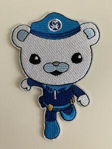 Octonauts Captain Barnacle Themed Embroidered Iron On / Sew On Patches Badges