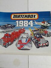 Matchbox Toys -  Catalogue - 1984 ( ORIGINAL )