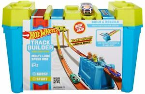 Hot Wheels Track Builder Multi Lane Speed Box