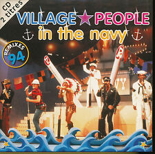 VILLAGE PEOPLE CD SINGLE BELGIUM IN THE NAVY