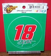 """BOBBY LABONTE #18 INTERSTATE 2002 WINNER CIRCLE  3"""" ROUND DECAL STICKER"""