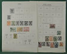 CHINA STAMPS GOOD SELECTION ON 8 ALBUM PAGES  (B83)