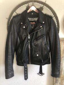 schott perfecto leather jacket women's