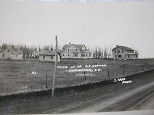 Old Postcard Canistota S.D. Rppc Photo Dr. A.S Ortman T*