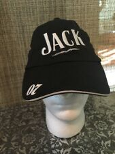 No. 07 Jack Daniel's Racing Trucker Baseball Black Hat Velcro Mesh Adjustable