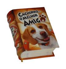 Cachorro o melhor amigo in Portuguese capa dura de livro em miniatura ilustrado