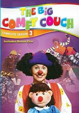 The Big Comfy Couch Series TV Show: Complete Third Season 3 -  DVD Box Set NEW!