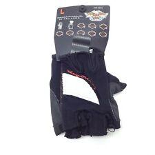 Harley-Davidson Womens Sierra Textile fingerless gloveLarge 97238-14VW