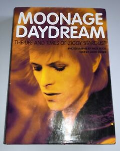 David Bowie Moonage Daydream Hardback Book The Life And Times Of Ziggy Stardust
