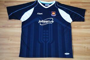 WEST HAM UNITED ENGLAND 2006/2007 AWAY FOOTBALL SHIRT JERSEY MAGLIA REEBOK XXL