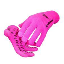 DeFeet Duraglove ET Cordura Gloves (Hot Pink / Black Grippples /X-Large Size)