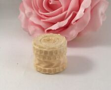 Antique Old Vintage Victorian Tiny Sewing Trinket Button Notions Box