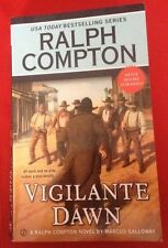 Vigilante Dawn by Ralph Compton and Marcus Galloway (2014, Paperback)